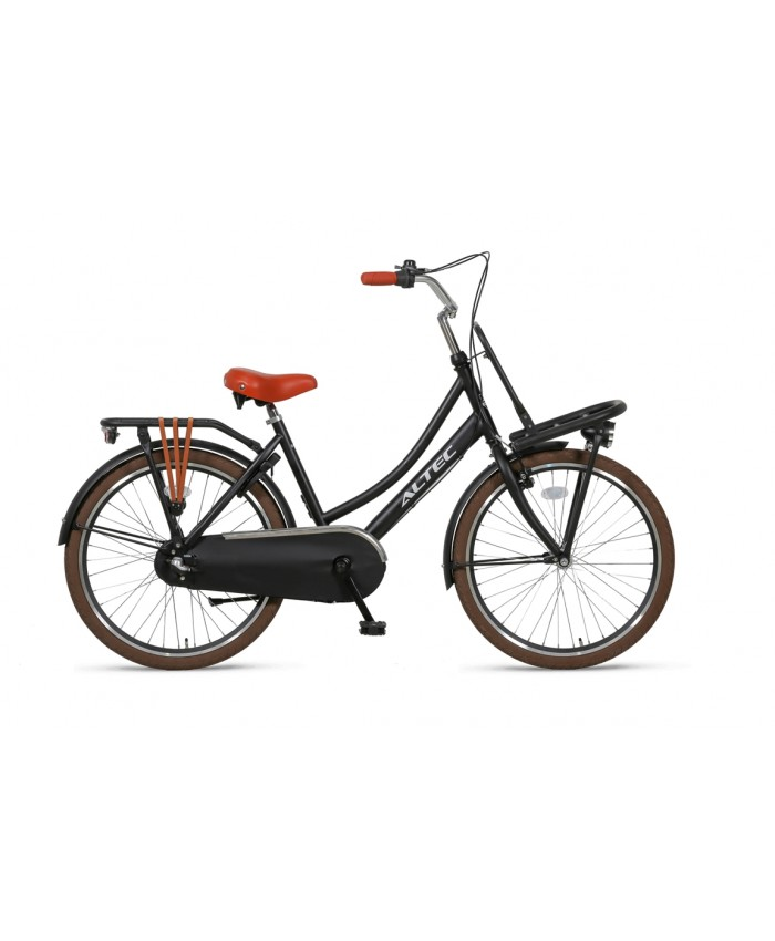 Altec Dutch 24inch Transportfiets Zwart 2019