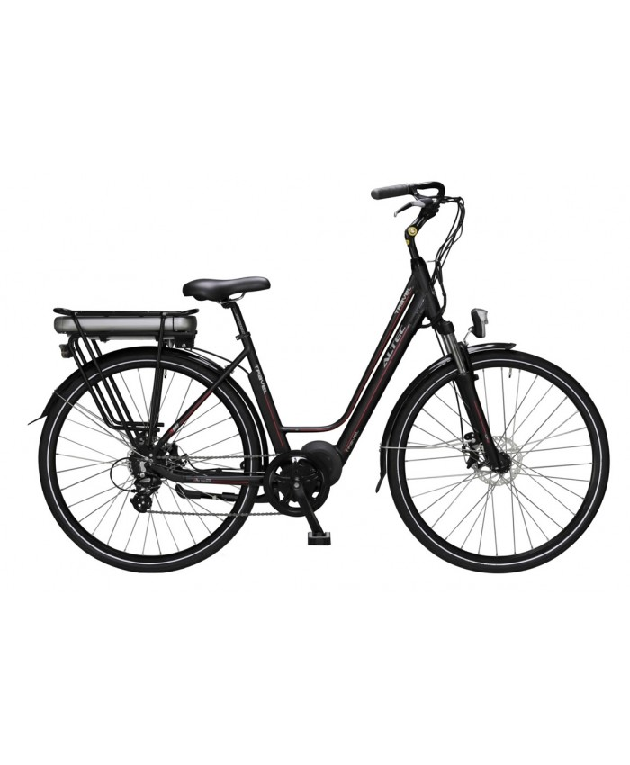 Altec Travel E-Bike 480 Wh Bafang Middenmotor 28 inch Zwart