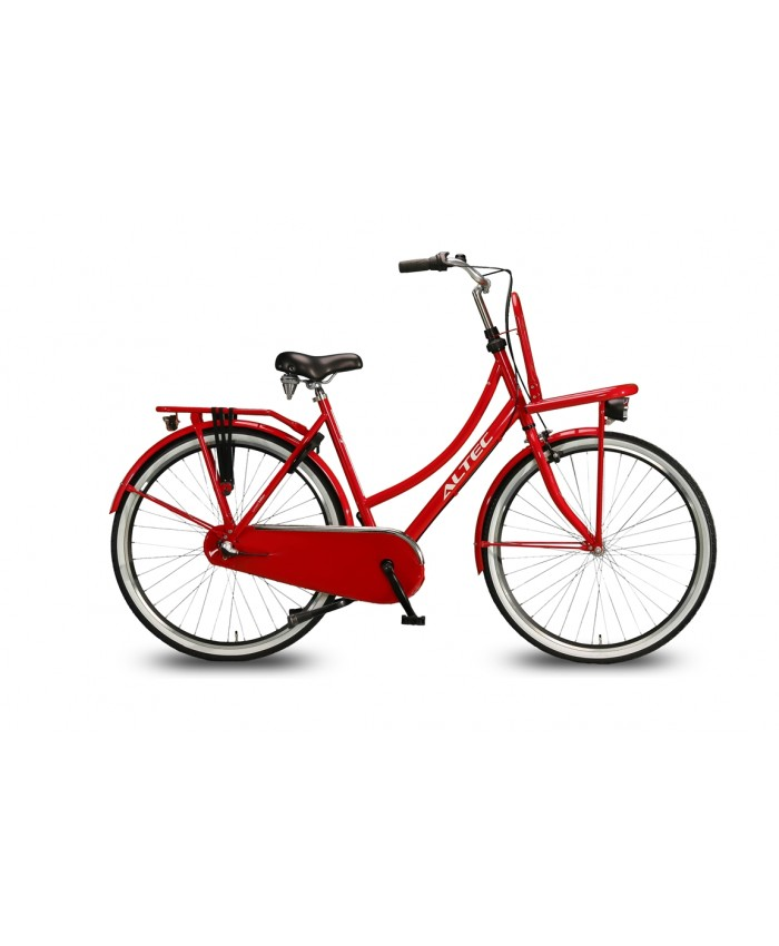 Altec Dutch Limited Edition Mustang 28 inch Transportfiets Rood 55 cm 2018