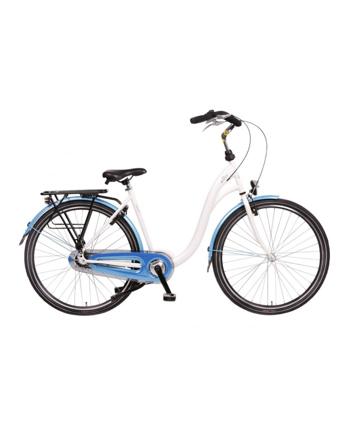 Altec Sweet Moederfiets N-3 Wit/Blue 56cm 2017