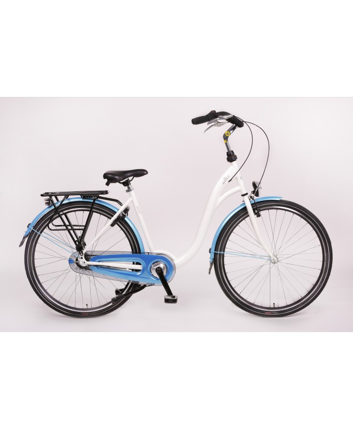 Altec Sweet Moederfiets N-3 Wit/Blue 50cm 2017