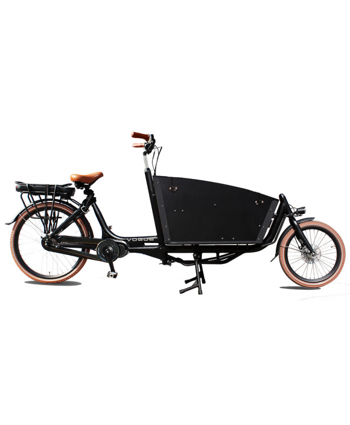 Vogue Elektrische bakfiets Two Wheel Carry mat-zwart 481 Watt 1000234