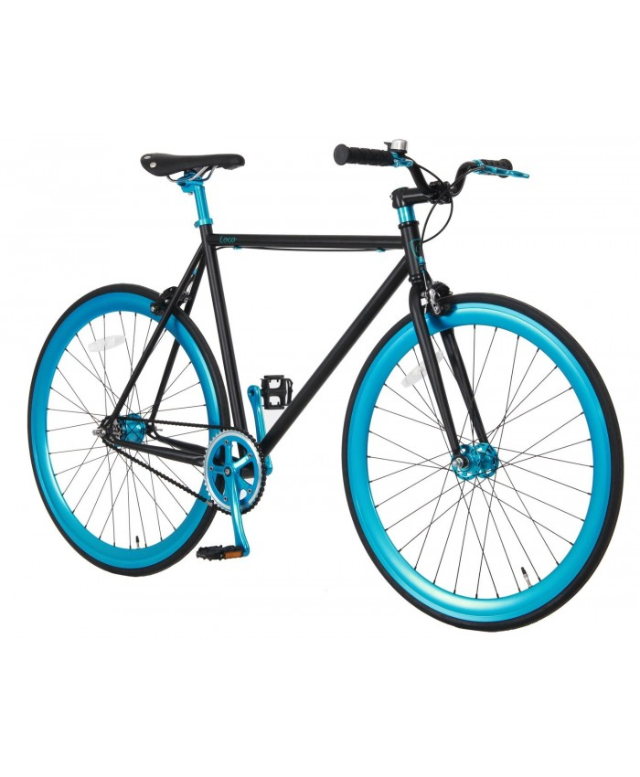 "VOGUE, 28"", Loco, 2 speed, Matt-black-Blue	101590 Blue"