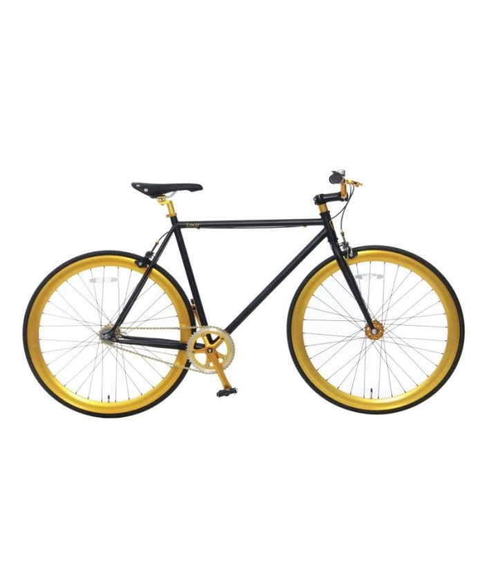 "VOGUE, 28"", Loco, 2 speed, Matt-black-Gold	101592"
