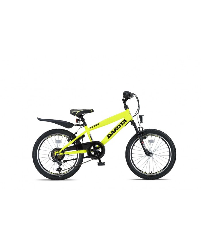 Altec Dakota 20inch Jongensfiets 7speed 2019 Neon Lime Nieuw
