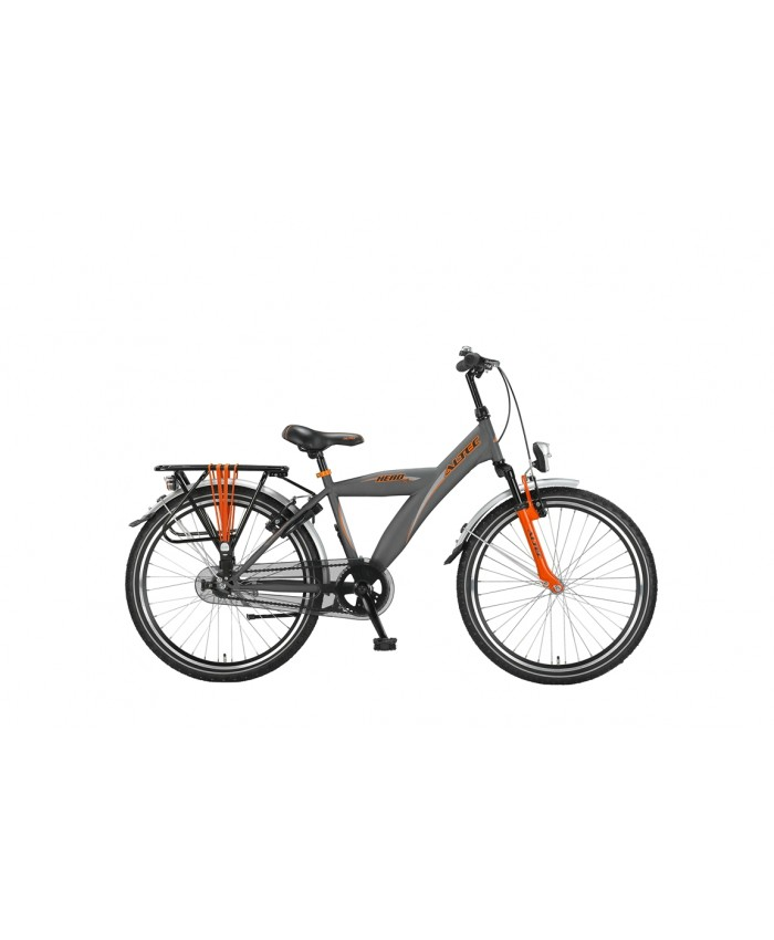 Altec Hero 24 inch jongensfiets Dark Orange 2016 Remnaaf