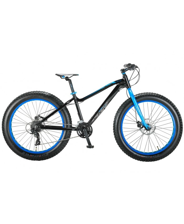 FAT Bike Allround 26inch 2D Zwart - Blauw