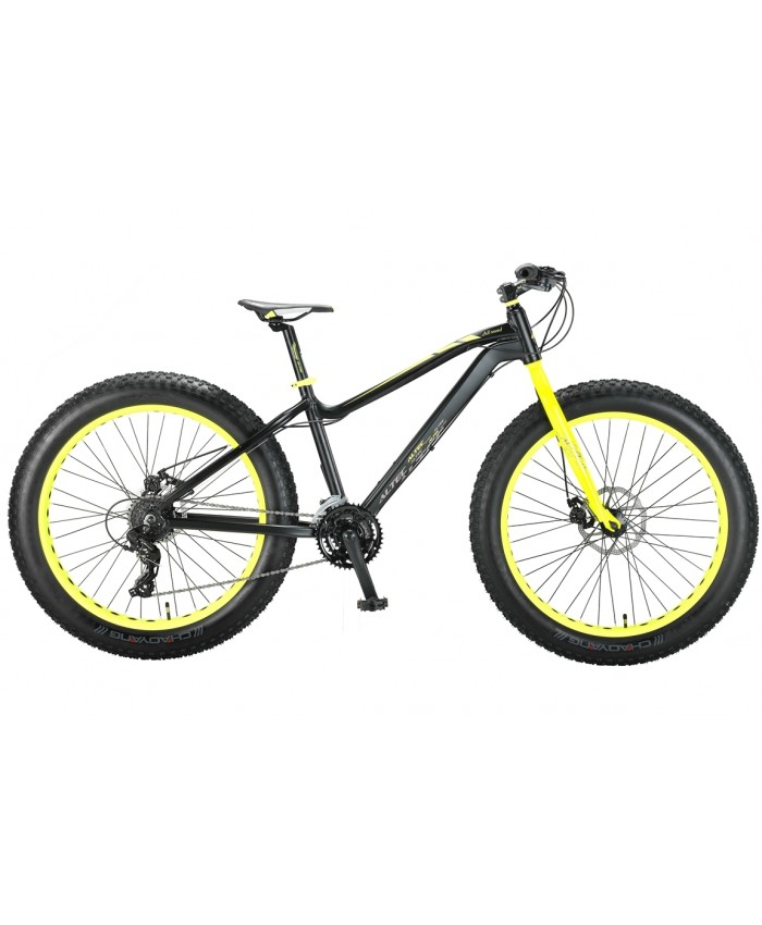 FAT Bike Allround 26inch 2D Zwart - Groen
